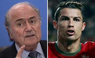 Cambió la burla por el elogio: Blatter se rindió ante los goles de Cristiano