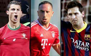 Cristiano Ronaldo, Ribéry o Messi: ¿Quién debe ganar el Balón de Oro?