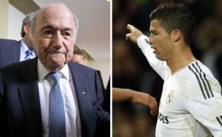 "Joseph Blatter se reafirma en llamar ""comandante"" a Cristiano Ronaldo"
