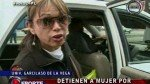 Mujer fue llevada a comisaría tras negarse a ser miembro de mesa - Noticias de maria estela gutierrez moreno