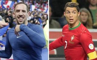 Ribéry asegura estar por encima de Ronaldo y que ganará el Balón de Oro
