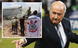 "Blatter expresó ""profunda tristeza"" por tragedia en estadio de Brasil"