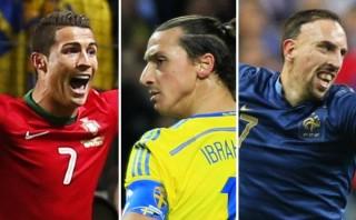 Cristiano, Zlatan y Ribéry, los más egocéntricos del fútbol mundial