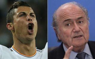 """Cristiano Ronaldo ironizó sobre una supuesta llamada de Blatter: """"No tengo teléfono"""""""