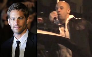 Vin Diesel dio un emotivo discurso en el lugar donde murió Paul Walker [VIDEO]