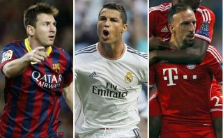 Balón de Oro 2013: Messi, Cristiano Ronaldo y Ribéry son los finalistas