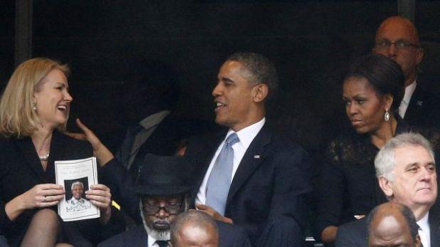 ¿Por qué está con esa cara Michelle Obama, la esposa de Barack Obama?