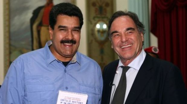 Oliver Stone will shoot a film about the life of Hugo Chavez
