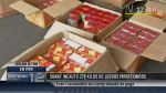 Casi 270 kilos de pirotécnicos ilegales fueron incautados en Pucusana - Noticias de difusióhn