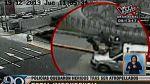 Video muestra cómo dos policías son atropellados por un taxi en Surco - Noticias de felix ortega mamani