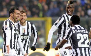 Juventus goleó 4-1 al Atalanta y cerró 2013 como líder de la Serie A [VIDEO]