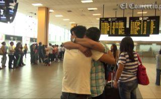 Compatriotas retornan al Perú para pasar Navidad con sus familias [VIDEO]