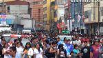 Mesa Redonda y la aglomeración de gente que compra a última hora - Noticias de jiron andahuaylas