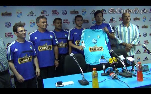 Daniel Ahmed fue presentado como nuevo DT de Sporting Cristal
