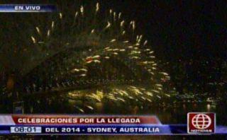 Ya es 2014 en Australia y Nueva Zelanda