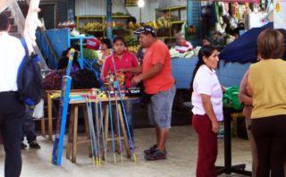 Trujillo: continúa venta de pirotécnicos en mercado central pese restricciones