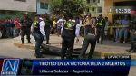 Muerte en Año Nuevo: encapuchados balearon a dos personas en fiesta de La Victoria - Noticias de cojo alberto