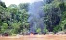 Madre de Dios: destruyen artefactos mineros en Tambopata