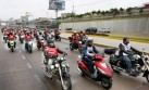 Caravana motera en Lima busca romper récord Guinness