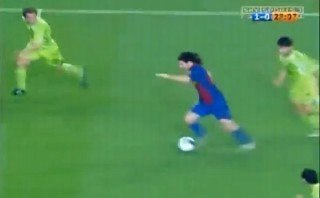 """Messi: su gol """"maradoniano"""" ante Getafe cumple 9 años [VIDEO]"""