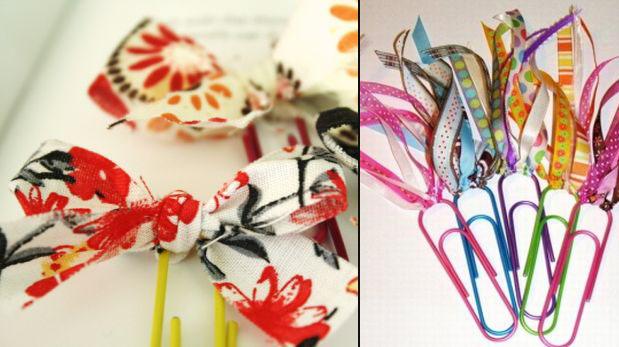 Separadores originales: Añádele color a tu lectura | Tiempo Libre ...