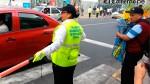 Vecinas hacen que el tránsito fluya en San Borja - Noticias de lilly ezcurra loo