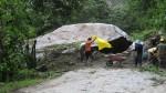 Acceso a Machu Picchu fue bloqueado por una piedra gigante - Noticias de guido oros calderon
