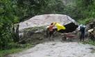 Roca que interrumpía vía hacia Machu Picchu fue retirada