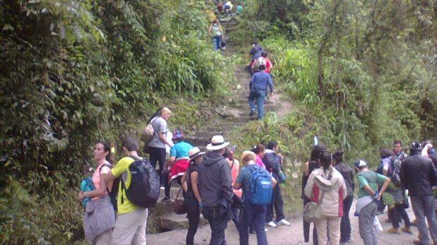 Camino a Machu Picchu aún no se restablece por completo