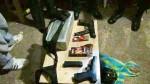 Hallan fusiles, pistolas y municiones en edificio de Miraflores - Noticias de nestor pita herrera