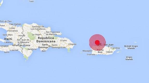 El epicentro de los dos sismos estuvo en el mar.