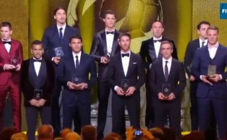 Conozca al once ideal del 2013 para la FIFA