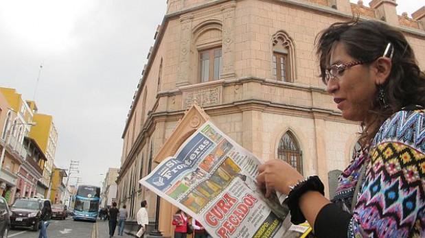 La información salió publicada en un diario local. (Carlos Zanabria / El Comercio)
