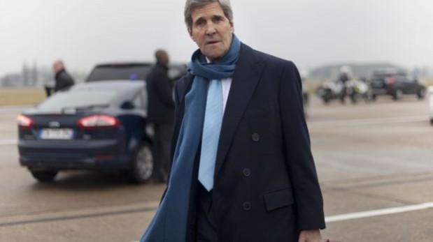 John Kerry visitó la semana pasada el Medio oriente para relanzar el proceso de paz entre palestinos e israelíes. (Foto: AP).