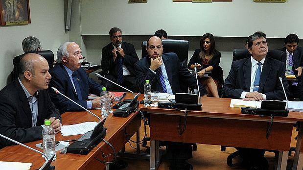 Informes de la megacomisión: la mayoría sugiere acusar a García