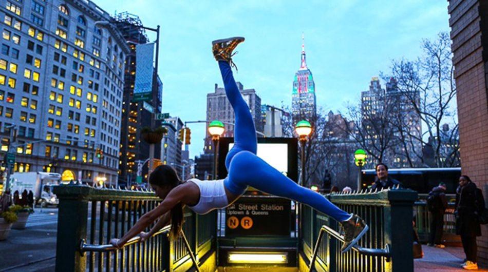 Jen Selter en acción fitness