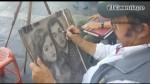 El oficio de retratar en la calle - Noticias de rafael sanzio