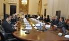 Humala conversó con líderes de partidos políticos sobre La Haya