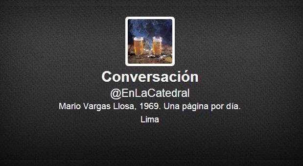 """Conversación en la Catedral"" se narra a diario vía Twitter"