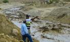 Huaico provoca evacuación de 3 localidades de Huancavelica