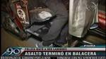 Dos delincuentes murieron tras persecución policial - Noticias de santos more maza