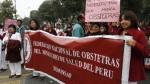 Minsa consideró injustificada la protesta de obstetras - Noticias de federación de enfermeras del ministerio de salud