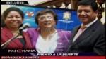 Congresista Rosa Mavila premió a cuestionada empresa Orión - Noticias de robert chavez falconi