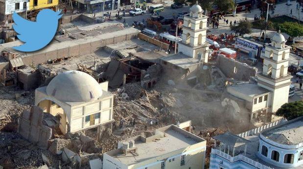 La 1era cobertura de El Comercio en Twitter: terremoto de Pisco
