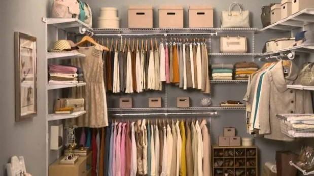 Disfruta de un closet ordenado sin mucho esfuerzo (Foto Pinterest