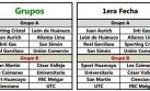 Copa Inca 2014: así se jugará la primera fecha del campeonato