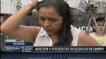 Desalojo en Campoy terminó con agresión a periodistas - Noticias de nelly tejada