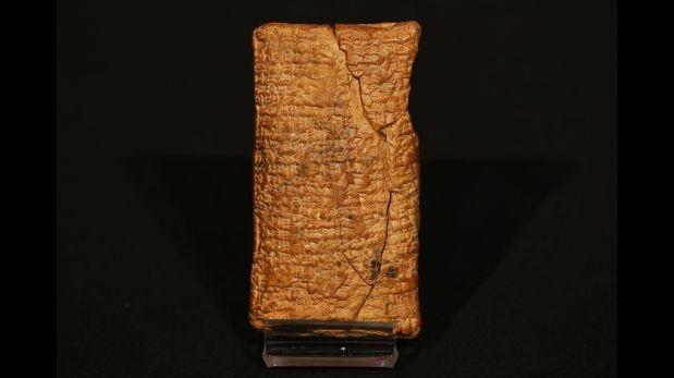 Una tablilla tiene planos de cómo pudo ser el arca de Noé Base_image