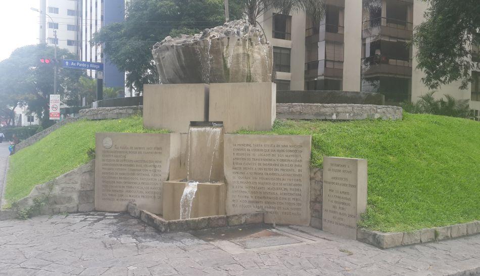 Réplica de la piedra Saywite está en San Isidro