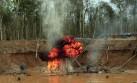 Desalojan a mineros ilegales cerca de reserva de Tambopata
